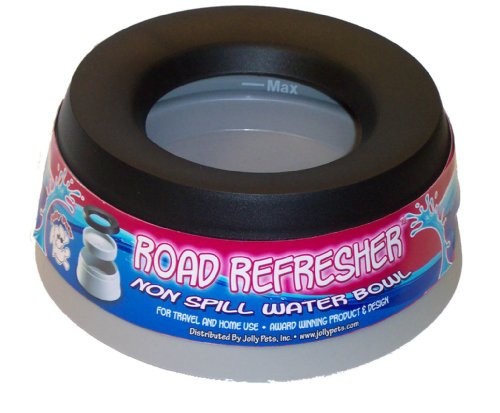 Jolly Pets Road Refresher No Spill Portable Pet Bowl 54-Ounce