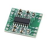 cjcaijun bocina Bluetooth Fuente de alimentación Tablero del Amplificador Super Mini Amplificador Digital Junta 2 * 3W Clase D Digital eficiente USB 2.5 a 5V para Altavoz retrofit