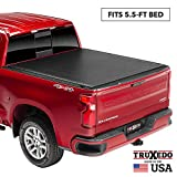 TruXedo Sentry Hard Rolling Truck Bed Tonneau Cover | 1597701 | fits 15-20 Ford F-150  5'6' bed