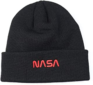 46fe5199bbfdd BAIMORE NASA Fine Finished Embroidered Hip Hop Knitting Hat