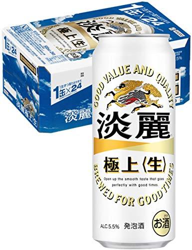 キリンビール キリン淡麗 生 缶 500×24 [2600]