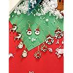 12 Paires Boucles d'Oreilles Pendantes de Goutte de Noël Ensemble de Boucles d'Oreilles de Bijoux de Noël pour Femmes… 13 Bijoutier Boutique Thème de Noël: notre ensemble de boucles d'oreilles a diverses formes, y compris bonhomme de neige, flocons de neige, boîte de cadeau, forme de clochettes, arbres de Noël, etc. articles de Noël classiques, l'air si mignon et adorable, correspond au thème de Noël, créant une bonne atmosphère de festival Matériau durable: ces boucles d'oreilles de Noël sont faites de métal avec une surface brillante et lisse, difficile à décomposer et vous pouvez l'utiliser longtemps avec un bon rangement Accessoire délicat: différents modèles de boucles d'oreilles sont plus faciles à assortir avec différents vêtements, adaptés à Noël, aux cérémonies, aux accessoires photo, assistez à une variété de parités, également très agréables pour un usage quotidien, aident à compléter votre accessoire de costume