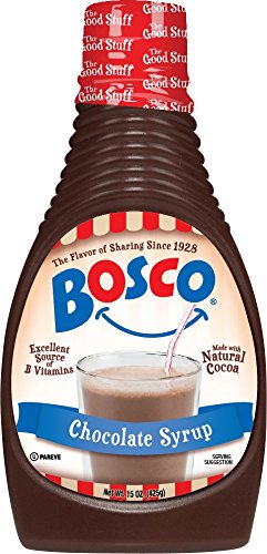 Bosco Syrup, Chocolate, 15 Ounce (Pack of 6)