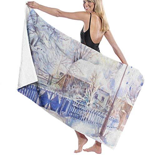 LOPEZ KENT zieke bieten grappige microvezel badhanddoek 80CM X 130CMs Quick Dry Super absorberende handdoek 80CM X 130CM voor camping