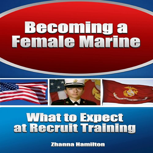 Becoming a Female Marine audiobook cover art