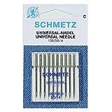 Agujas para Máquina de Coser Schmetz - Universal (Regular / Ordinario), Tamaño: 90/14 - Paquetes de 10 - Paquete...