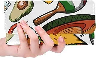 Unique Custom Pyramid Musical Instrument Gourmet Design Retro Design Art Ethnic Women Trifold Wallet Long Purse Credit Card Holder Case Handbag