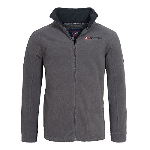 Geographical Norway Herren Fleecejacke Tamazonie Men Dark-Grey - Navy L
