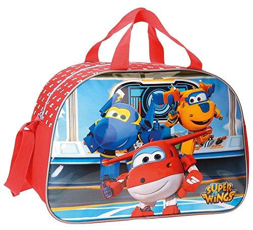 Super Wings Travel Bag, 40 cm, 24.64 liters, Multicolore