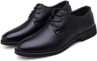 [ランボ] 27.5cm ビジネスシューズ メンズ 職場用 ローファー シューズ レースアップ 大きいサイズ 歩きやすい 履きやすい 通気快適 滑り止め 紳士用 シンプル メンズ シューズ 紳士靴 オールシーズン