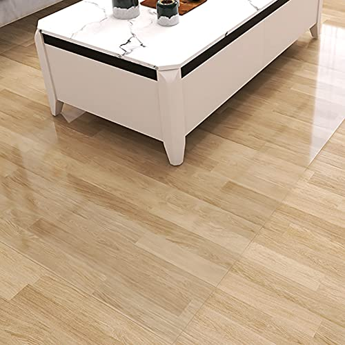 alfombra de Pasillo Alfombras de Área Claro Estera de La Silla de Mesa, Tarea Pesada Protector de Corredor de Piso para Salón/Cocina/Oficina, 1,5 mm de Altura (Size : 120×100cm(3.9ft×3.2ft))