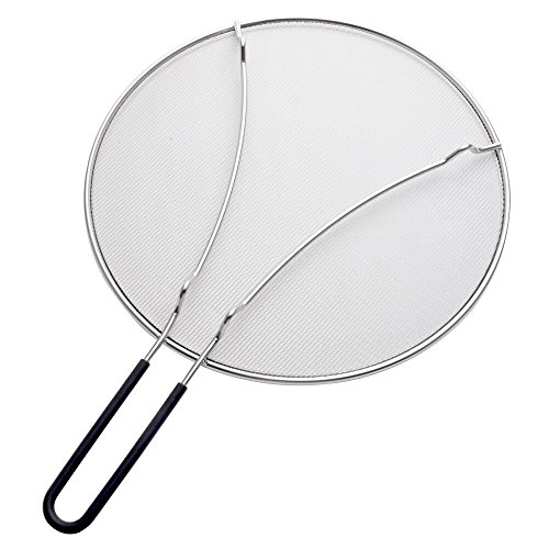 ZESPROKA ZSP03 Grease Splatter Screen for Frying Pan, 13'', Stainless Steel