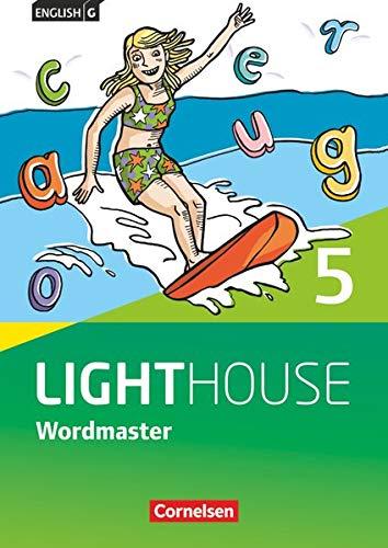 English G Lighthouse - Allgemeine Ausgabe - Band 5: 9. Schuljahr: Wordmaster mit Lösungen - Vokabellernbuch