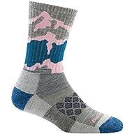 Side Profile View of Women's Darn Tough Three Peaks Micro Crew Light Cushion Sock