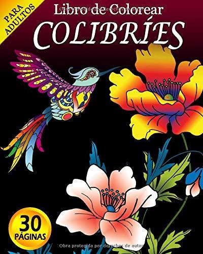 Libro de Colorear para Adultos: Colibríes (Ayuda para Personas Mayores con Demencia o Alzheimer)[Te