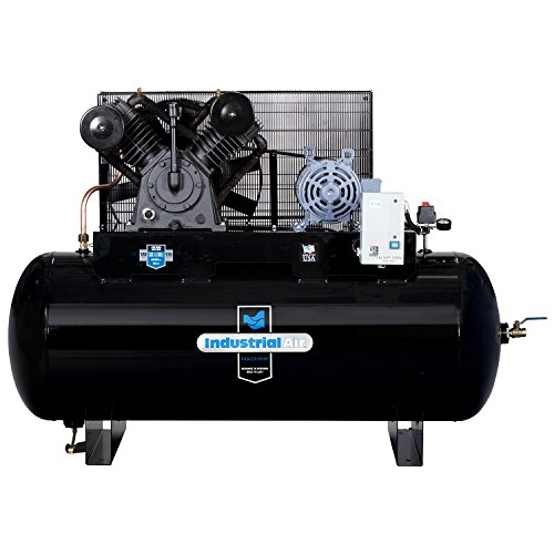 Industrial Air IH9929910 10 HP Two Stage Air Compressor, 120...