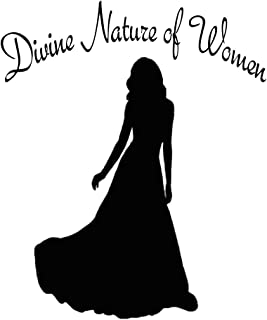 Divine Nature of Women: Young Woman Journal Composition Notebook - 120 Blank Lined Pages 6X9 Size Book