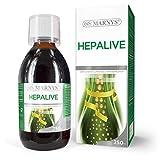 MARNYS Hepalive Détox Extracto Alcachofa, Remolacha, Vitaminas 250ml