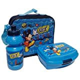 Star  Disney Mickey Mouse & Friends Art. Code- 48972, Canteens And Lunch Box Set 3 Pezzi