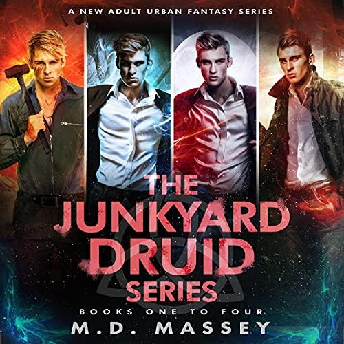 Junkyard Druid Books 1-4: An Urban Fantasy Box Set: Junkyard Druid Urban Fantasy Box Sets, Book 1