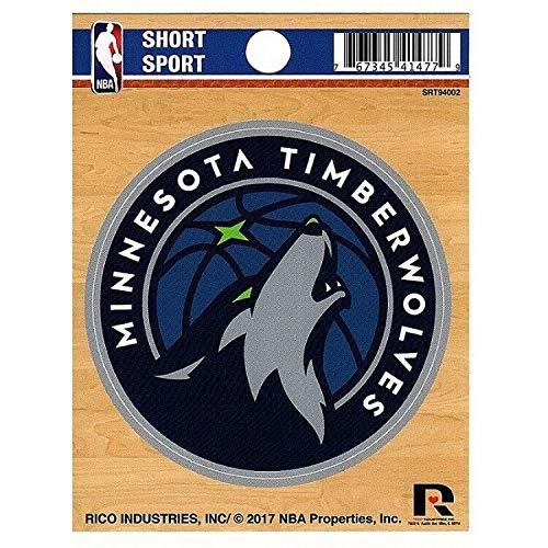 Sticker-Designs 10cm! Klebe-Folie Wetterfest Made-IN-Germany Minnesota Timberwolves NBA Basketball Team Logo OHNE Verpackung! UV&Waschanlagenfest Auto-Aufkleber Profi-Qualität! F392
