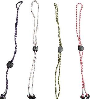 Buhui - Cordino per la copertura del viso, 4/5 pezzi, lunghezza regolabile, per sollievo dell'orecchio, supporto flessibile