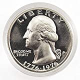40% Silver BU coin minted by the U.S. Mint. Silver BU Quarter Only. This special edition Silver Coin was only issued in a special bicentennial 3 Coin US Mint Set. The Quality of the coin in the highest quality available from the US Mint. Comes in ori...