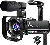 Cámara de vídeo de 2,7 K 36 MP Zoom Digital 16X visión Nocturna...
