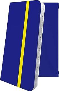 Xperia acro HD SO-03D ケース 手帳型 青 ブルー 青色 おしゃれ エクスペリア アクロ ケース 手帳型ケース かっこいい SO03D Xperiaacro ケース ボーダー マルチストライプ