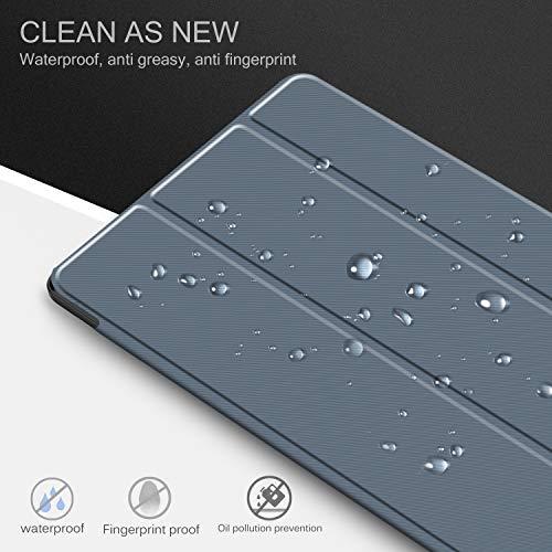 IVSO Hülle Kompatibel mit Samsung Galaxy Tab A7 10.4 2020, Schlank Slim Hülle Schutzhülle Hochwertiges PU mit Standfunktion, Samsung Galaxy Tab A7 T505/T500/T507 10.4 Zoll 2020, Blau