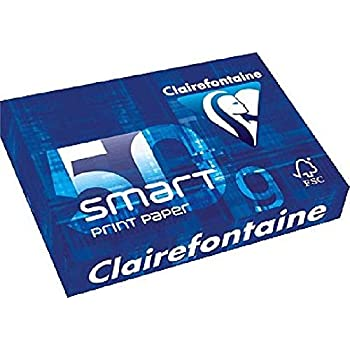 Clairefontaine 1821 DCP printer paper 500 sheets in A4 format with 100 grams...