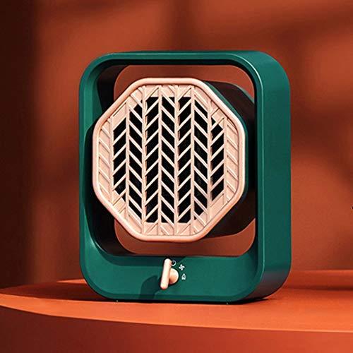 ZYING Calentador de Espacio eléctrico portátil, Ventilador de cerámica silencioso y Seguro de 400 W, para Escritorio de Oficina en Interiores