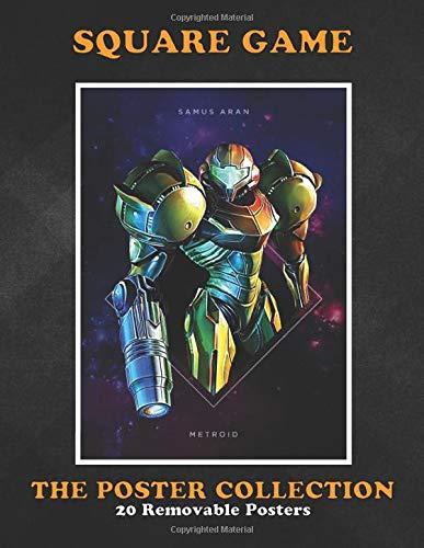 Poster Collection: Square Game Square Samus Aran Metroid Gaming