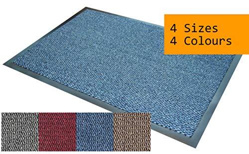 Morland - Felpudo, Polipropileno, Azul, 60cm x 90cm