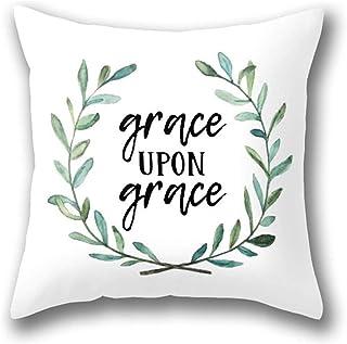 Lfff Funda de Almohada Grace Upon Grace Funda de Almohada estándar