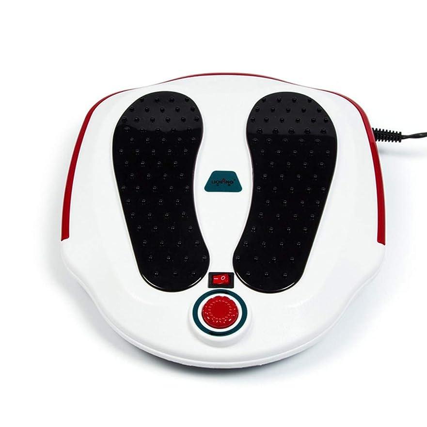 さびた細分化する罪人足のマッサージ機指圧足マッサージ電気バック切替式熱機能振動ディープニーディング取り外し可能。, white