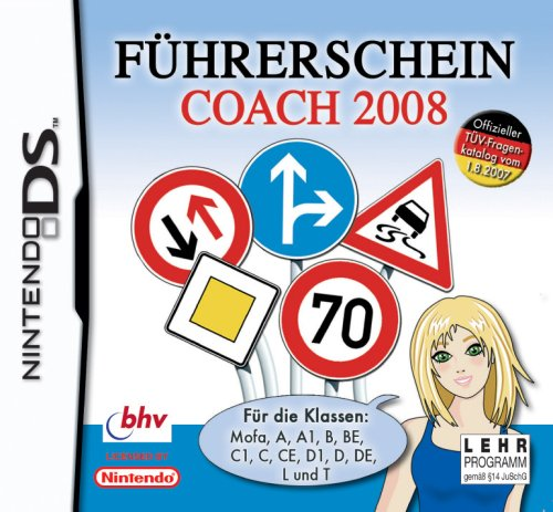 F?hrerschein-Coach 2008, Nintendo DS-Spiel