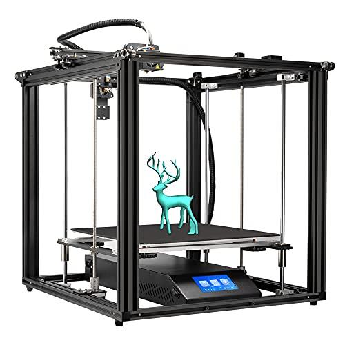 Creealidad Oficial Enterior-5 Plus La última Impresora Fdm 3d Y Currículum De Impresión De Nivelación Automática De Bl-touch, Plataforma De Impresión De Vidrio De Silicio De Cristal De Carbono Móvil,