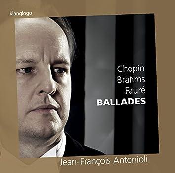 Chopin, Brahms & Fauré: Ballades