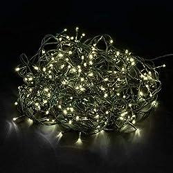 Tenia 200 Lichterkette Warmweiß Innen/Außen 20M Weihnachten