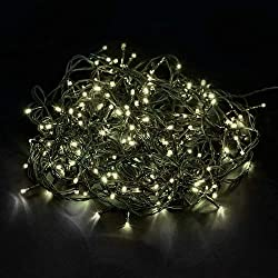 Tenia 200 Fairy Lights Warm White Indoor / Outdoor 20M Christmas