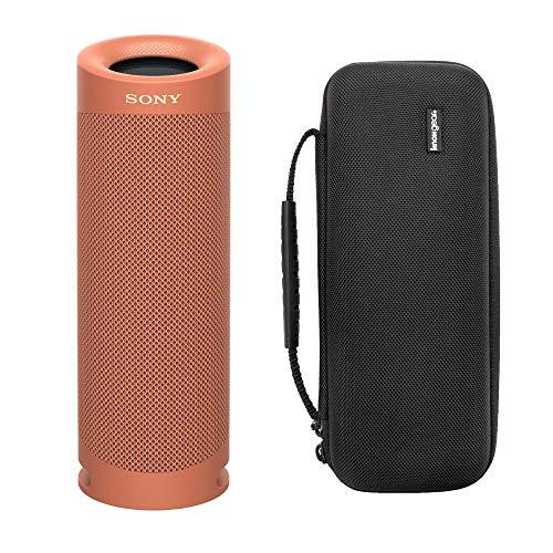 Sony SRS-XB23/C Extra Bass Bluetooth-Lautsprecher, kabellos, tragbar, mit Knox...