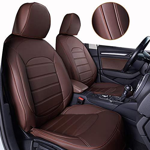 Muchkey Fundas de Asiento de Cuero para Todo el Coche para Mercedes-Benz SLK Clase 2011-2012 Conjunt