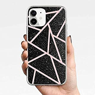 Silicone Mobile Phone Case For iPhone11, iPhone 11 Pro, iPhone11 Pro Max, iPhone12,iPhone12 Pro,iPhone12 Pro Max (Pink str...