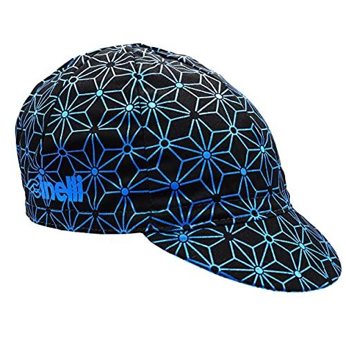 Cinelli Unisex czapka na lód, czarny/niebieski, jeden rozmiar