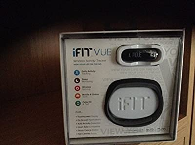 iFit Vue Fitness Activity Tracker Wearable (Black)