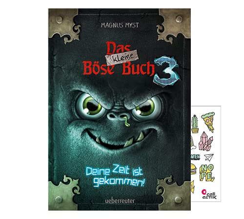 Ueberreuter Das kleine Böse Buch 3: Deine Zeit ist gekommen! + Kinder- Stickerbogen ab 8 Jahren