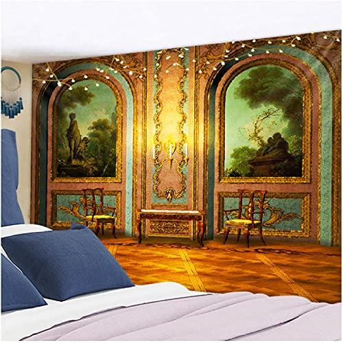 colgar en la pared tapiz psicodélico bohemio colorido tapiz hippie misterioso y estético para dormitorio sala de estar decoración de pared tapiz artístico Decoración de Halloween-130x150cm