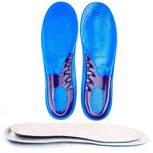 Speedfeet Sport Insole Gel Massaging Insole for Low Arches Orthopedic and Plantar Fasciitis...