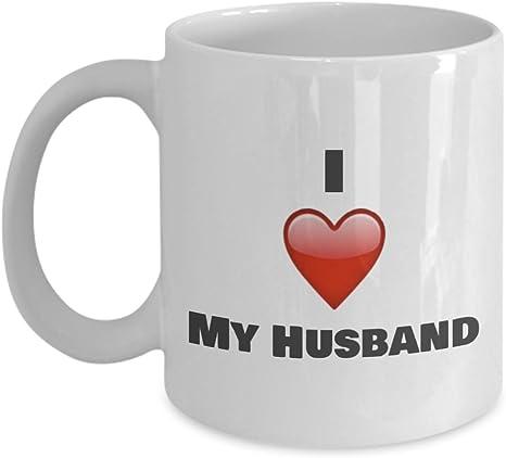 I Love My Husband Coffee Mug Gift Ideas For Husband Kitchen Dining